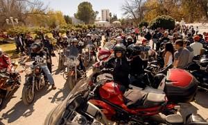 Gran cantidad de motocicklistas participaron en el evento del 2014.
