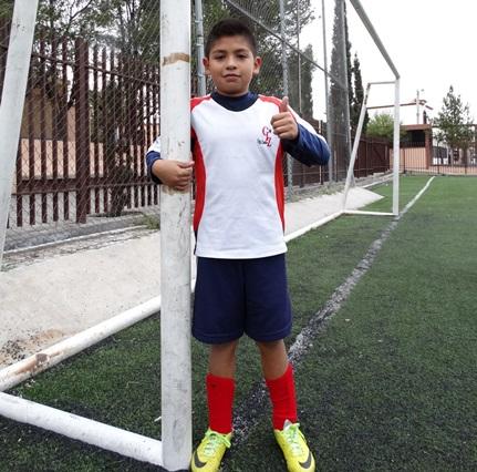 Jesús Alejandro es un portero muy confiable para el equipo del CIZ categoría 2005.