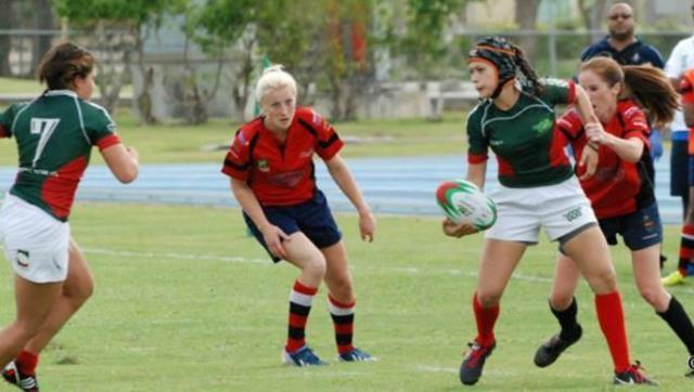 Carolina Sandoval integra el seleccionado mexicano de Rugby.