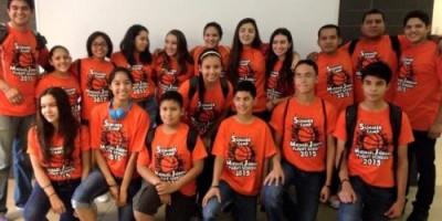 Los jugadores y entrenadores coahuilenses que asistieron al Campamento.