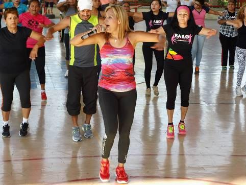 Brenda Flores es una de las instructoras que estará presente en el Maratón.