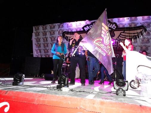 En Saltillo se le dio el banderazo de salida por parte del Club Camellos.