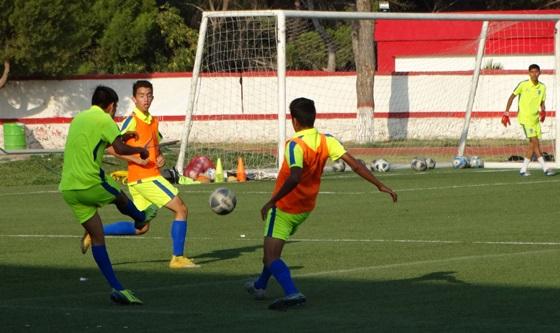 Los jugadores de Saltillo Soccer estarán jugando mañana en su casa.