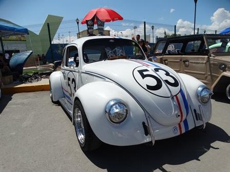 El clásico Herby también se exhibió.