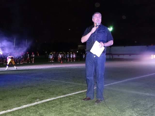 Armando Luna Canales realizó la declaratoria inaugural.