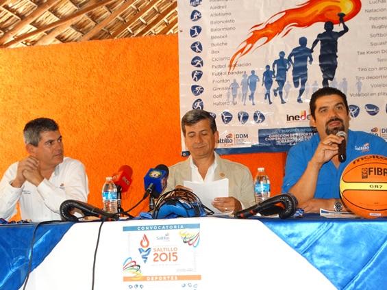 Raúl Fuentes, Carlos Orta y Armando de la Garza encabezaron la presentación del evento.