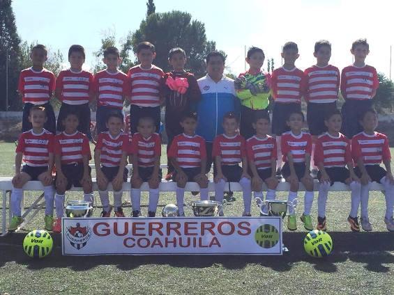 Guerreros Coahuila de la categoría 2007 logró una victoria ante un fuerte rival como es Santos Saltillo.