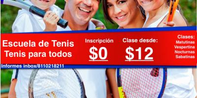 anuncio escuela de tenis grande