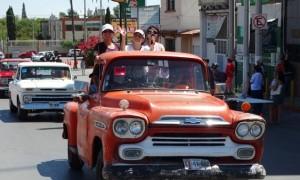 En el mes de Julio se realizó la concentración de camionetas en Saltillo.