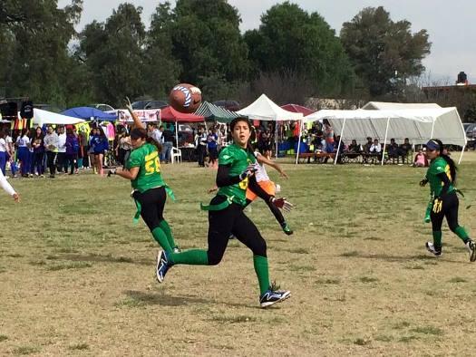 Las Dragonas Verdes lucieron con su juego en Texcoco.