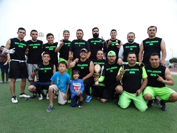 Los Soldiers, Campeones del Grupo Azul.