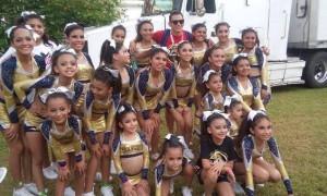 Las integrantes de Wolverines tuvieron una buena participación en Puerto Vallarta.