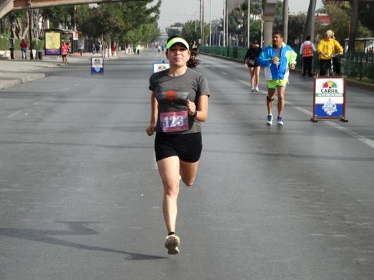 Yeimi Vargas, ganadora de los 5K Femenil.