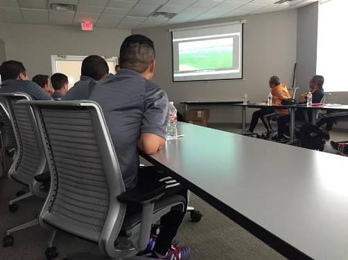 Diversos temas se trataron en la Reunión Anual de Academias del Houston Dynamo.