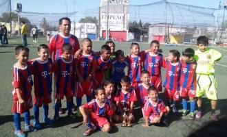 Los Campeones del Bayer  jugaron un gran torneo.
