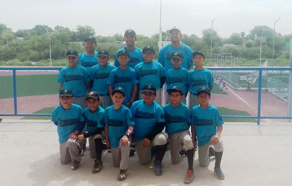 Los Saraperitos de la categoría 11-12 años, Campeones del Regional.