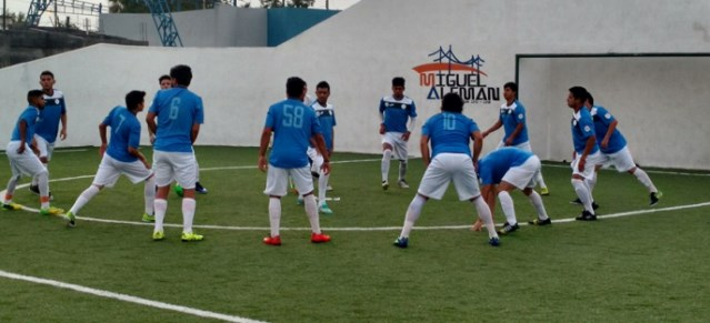 Los jugadores del Saltillo F.C. ya jugaron de visitantes en la Fecha 1, en Miguel Aléman, donde cayeron 7-5.
