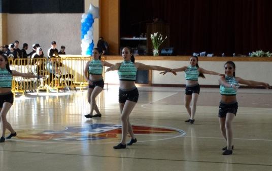 Participantes en el Primer Campeonato Dance 2016.