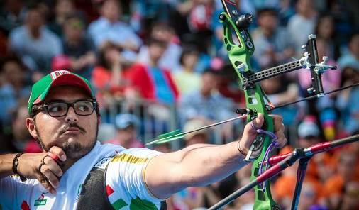 Ernesto Boardman es el único representante mexicano que compite en el tiro con arco varonil.