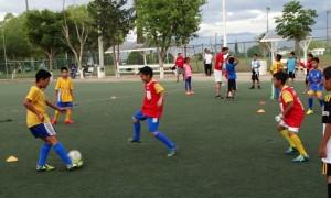 El futbol soccer tiene un buen número de participantes.