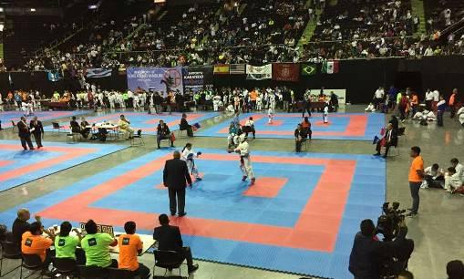 Campeonato Mundial de Karate Do Shito-ryu, celebrado en el mes de Octubre en la Arena Monterrey.