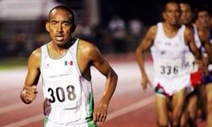 """David """"Keniano"""" Galván representó a México en distintas competencias internacionales, con especialidad en los 5 y 10 mil metros."""