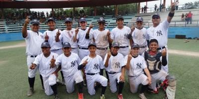 Los Yankees de Siel conquistaron el Campenato de la categoría Prejunior.
