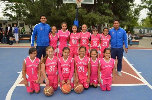El equipo femenil del Colegio Albatros se impuso en un solo partido al Instituto Británico de Torreón.