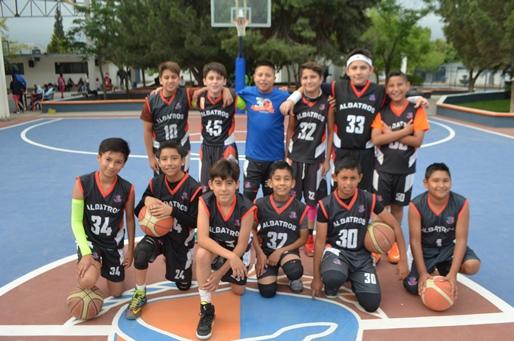 Los Campeones del Colegio Albatros ganaron sus juegos del Estatal.