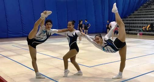 Los gimnastas Mario Nava, Ingrid Castellanos y Rosa Elia Martínez tuvieron destacada participación en el Campeonato Nacional de Gimnasia Artística 2017.