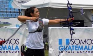 Ana Paula Vázquez tuvo brillante participación en la competencia de Guatemala.