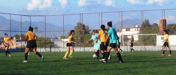El grupo femenil juega los miércoles con la participación de varios equipos.