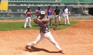 """beisbolistas de 14 hasta 17 años se dieron cita en el Estadio """"Francisco I. Madero"""" para buscar mostrar su talento para el rey de los deportes a los entrenadores de scouteo y desarrollo de talento de la novena sarapera."""