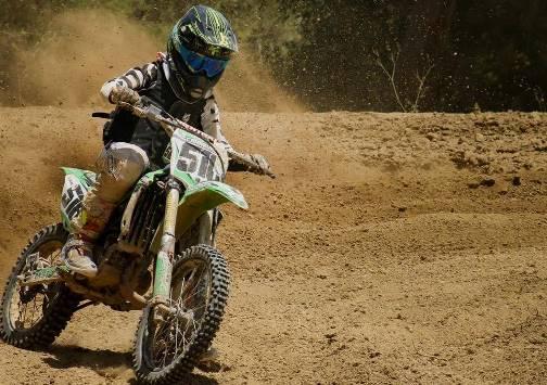 Daniel Carnevalli ha tenido destacadas participaciones en los distintos Campeonatos de Motocross.