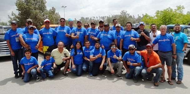 Integrantes del Club Clásicos Amigos durante su última participación en la Expo Clásicos 2017.