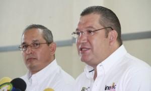 Jorge Chapoy y Ramón Rocamontes estuvieron al frente da la presentación de la convocatoria.