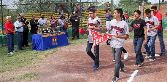 Los equipos desfilaron frente a los invitados de honor en el inicio de la inauguración
