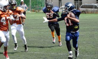 Broncos y Cuernos Largos ofrecieron una buena serie en el campo Jorge Castro.
