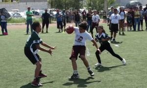 Los Burritos lucieron en la jornada del pasado domingo ganando sus dos juegos de la categoría 8-10 años.
