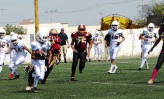 El ataque de las Aguilas de Saltillo lució en las tres categorías frente a los Pieles Rojas.