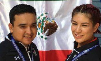 José Luis Sánchez  y Goretti Zumaya ganaron la medalla de oro