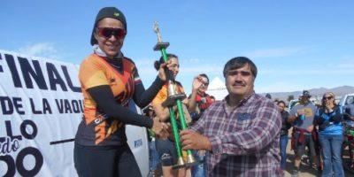 Los mejores ciclistas de la Gran Final del Serial MTB fueron premiados al término de la competencia.
