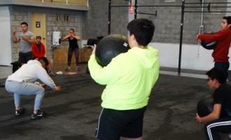 Los jugadores de Corsarios tuvieron su primer sesión de entrenamientos en el Gimnasio Play Crossfit, donde trabajan el acondicionamiento físico.