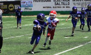 El ataque de Aguilas Moradas rindió frutos en las categorías Hormiguitas, Hormigas y Ardillas, donde se llevaron la victoria.