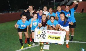 Las Cremas fueron las número 1 del Torneo Femenil al derrotar a Cuervos por 4-2 en la Final.