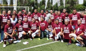 Los Ex Jugadores del Tec Saltillo se reunieron para jugar su tradicional partido del Recuerdo.