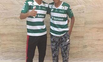Los futbolistas saltillenses Ángel Contreras y Felipe Valero ya se encuentran en la Ciudad de Torreón para las pruebas con el Santos.