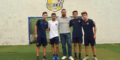 Jaime Tadeo Hernández, Héctor Omar López Silva, Andrés Martínez Juárez y Alejandro Bustos son los 4 futbolistas saltillenses que estarán participando en las visorias en la Ciudad de México.