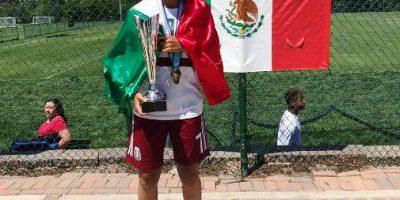 La saltillense Sofía Jiménez se concentrará con el Tricolor de 21 al 28 de Julio.l