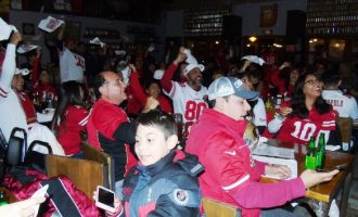 49ers fans Super Bowl